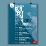 Plakat Konzertsommer